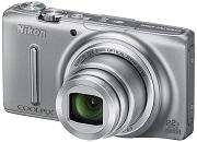 Nikon Coolpix S9500 Digital Camera